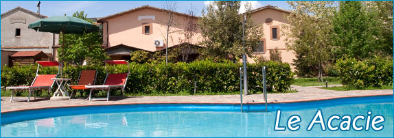 Prenota la tua vacanza in agriturismo con piscina